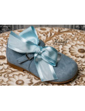 zapatos-niña-ante-azul