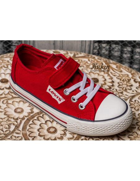 zapatillas-levis-rojas