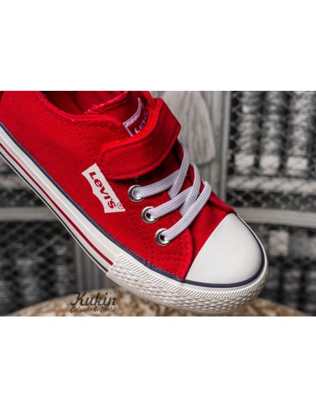 levis-zapatillas-rojas