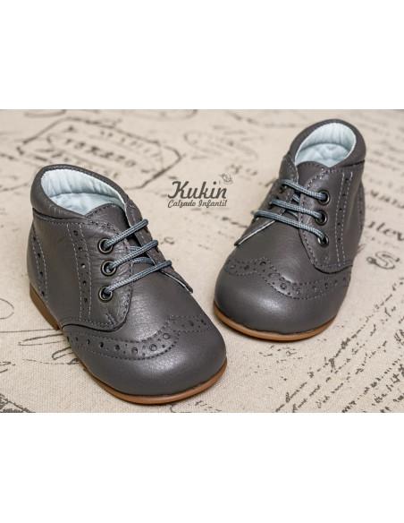 botas-piel-niño-grises