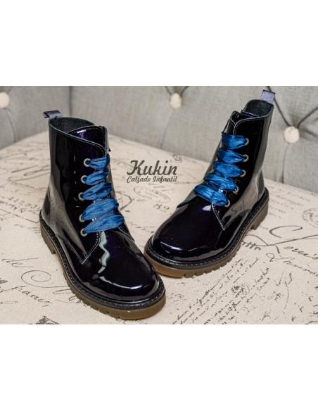 botas-militares-niña-azules