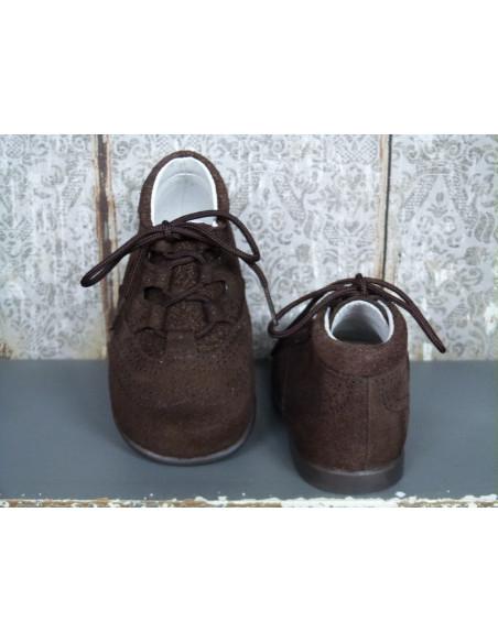 Bota inglesa serraje marrón
