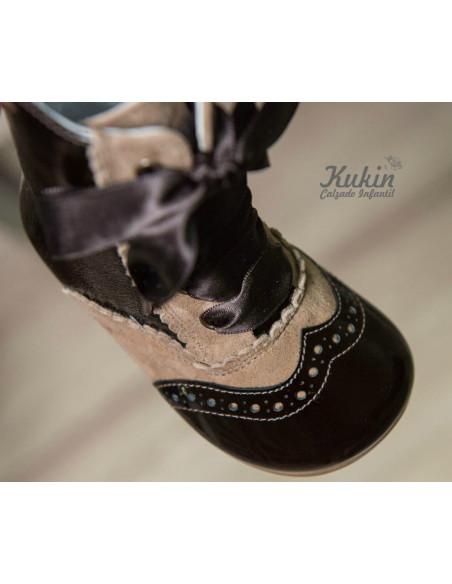 botas-nina-marrones