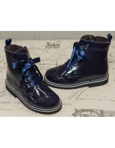botas-nina-charol-azul