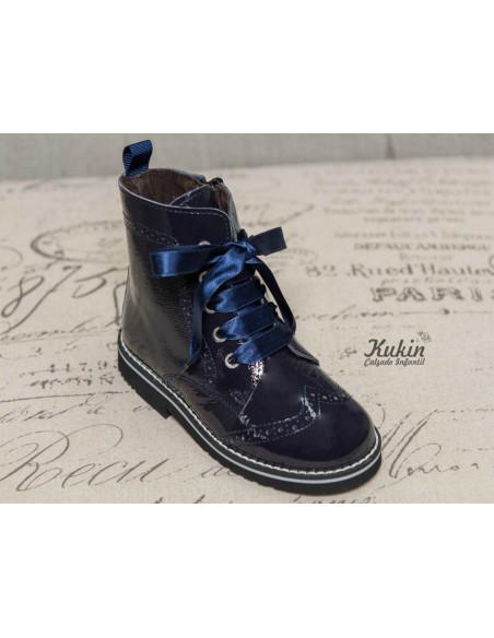 botas-militares-nina-azul