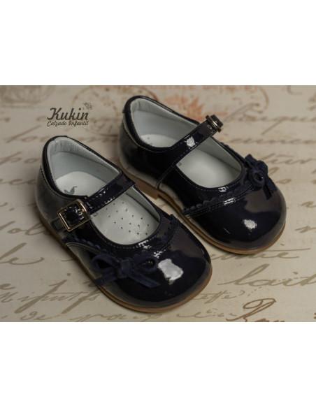 zapatos-niña-azul-marino-landos