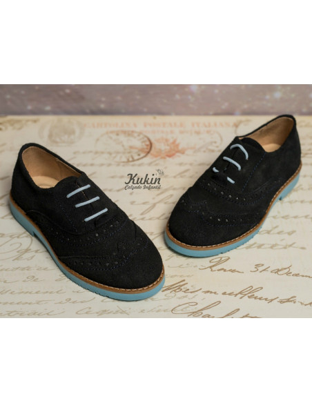 zapato-niño-serraje-marino