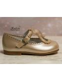 zapatos-niña-dorados-online