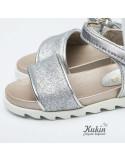 sandalias-plata-nina