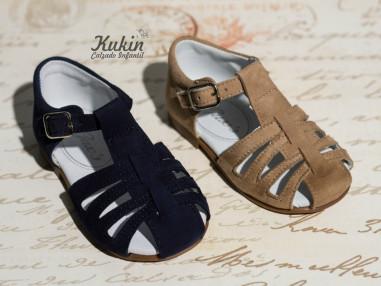 sandalias-niño-vestir