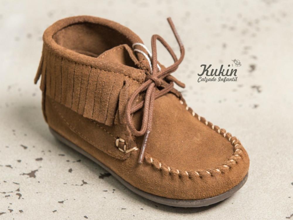 119ce5ff5 Botas flecos niña niño - Botas mohicanas online-Kukin Calzado Infantil