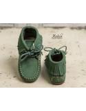 botas-flecos-niño-verde-botella