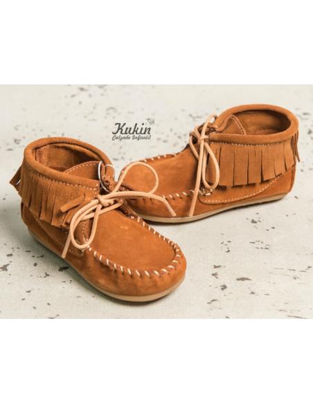botas-mohicanas-niño-cuero