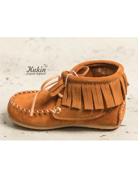 botas-mohicanas-niña-cuero