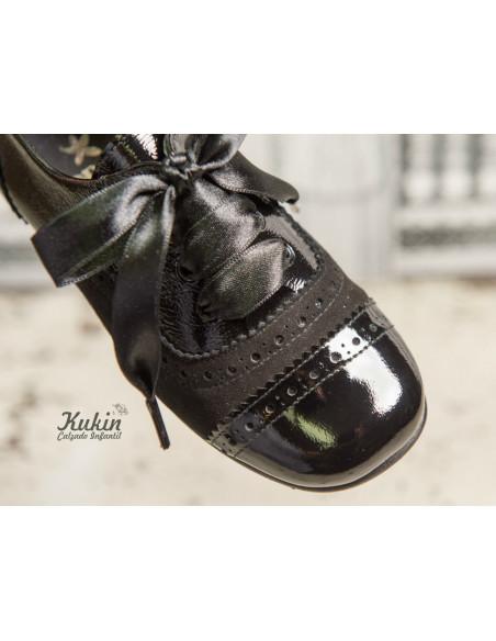 blucher-niña-negro
