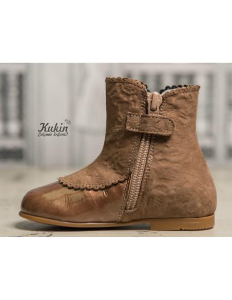 botas-niña-vestir