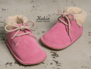 Botas bebé rosa