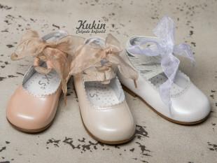 Zapatos ceremonia niña charol