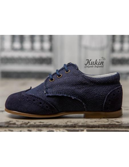 zapatos-lino-niño-azul-marino