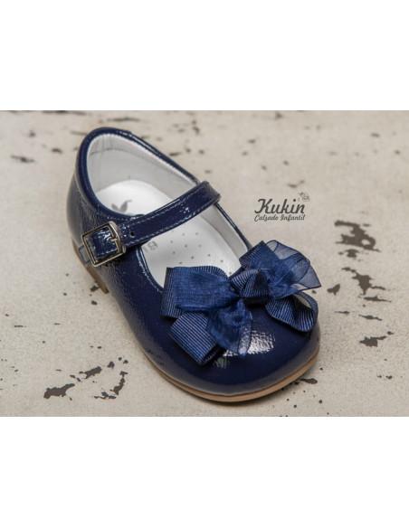 zapatos-niña-charol-marino
