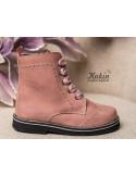 botas-rosas-niña