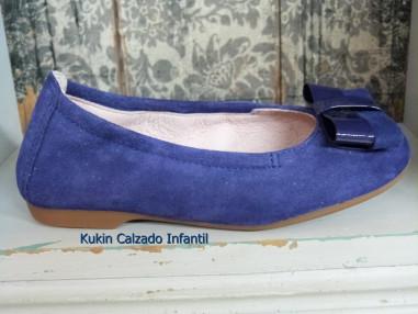 Bailarina azulón