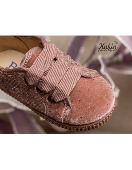 zapatillas-terciopelo-rosa-niña